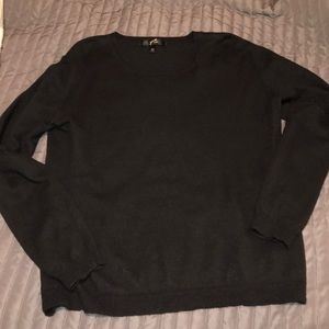 Women's XL luxe crew neck sweater
